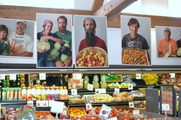 The Putney Co-op in eastern Vermont has been an inspiration in how they share photos of members & producers in their store.