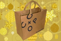 Our jute bags will be filled with a selection of local foods that you can pre-order for a thoughtful Christmas gift.