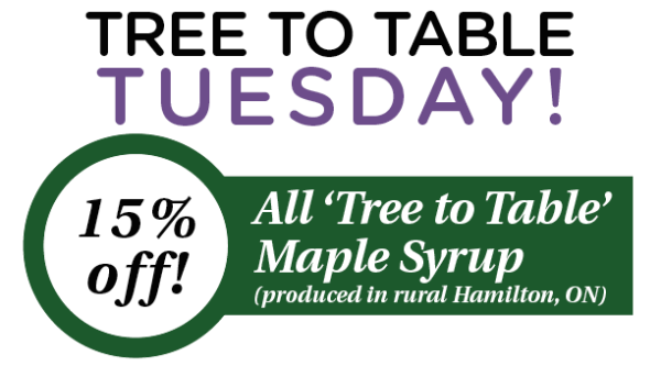 FOR EMAIL Tree to Table Tuesday