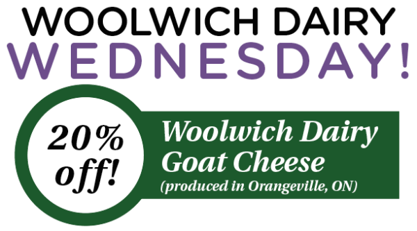 FOR EMAIL Woolwich Dairy Wednesday