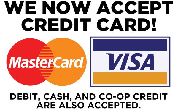Credit Card Sign WEB