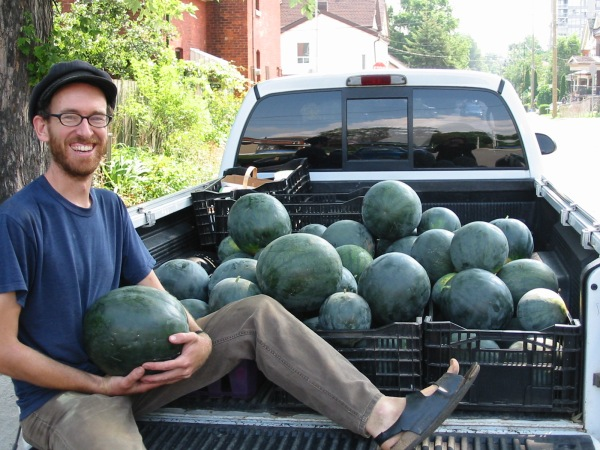 Backyard-Harvest-Watermelons