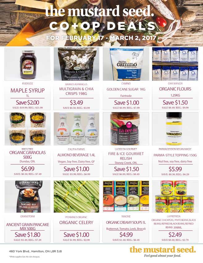 Mustard Seed Co-op Flyer