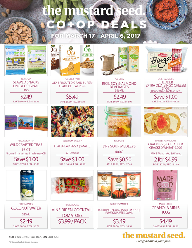 Mustard Seed Co-op Flyer