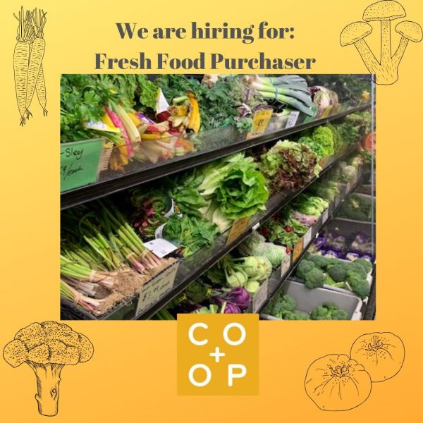 We are Hiring a Fresh Food Purchaser