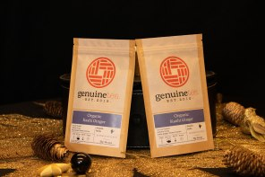 Sustainable and ethically sourced Kashi Ginger loose leaf tea from Genuine Tea